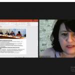 Председатель правления УРОО «Клуб активных родителей» рассказала об опыте взаимодействия с органами власти по внедрению формы семейного обучения в Ульяновской области на межрегиональной онлайн-встрече